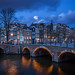 Amsterdam at blue hour