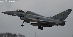 Eurofighter Typhoon T3 ZJ802 'QO-B'