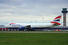 British Airways World Cargo G-GSSD Global Supply Systems Lonodn Stansted Airport