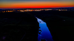 River Ribble after sunset