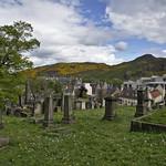 View fom the New Calton Burial Grounds