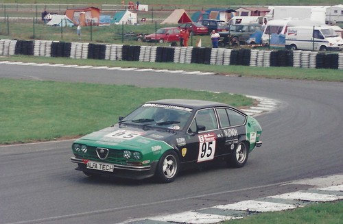 Rob Emberton Alfetta GTV Croix 1996