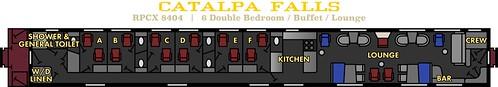 Catalpa Falls Private Rail Car USA