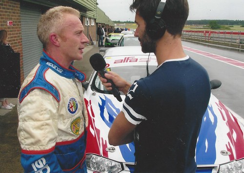 Anthony George after a 156 win at Snetterton