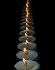Continuing with the stay at home theme.... It's better to light a candle than to curse the darkness