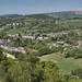 Old Glossop from Shire Hill