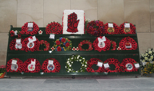 Poppies & Wreaths at the Menin Gate