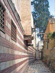 Le quartier copte du Caire (Égypte)