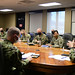 Commander, JRM hosted a COVID-19 response plan briefing for members of his team & other partners in the region