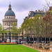 Panthéon view from Jardin du Luxembourg