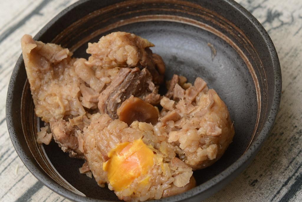 彭成珍 蛋黃肉粽50