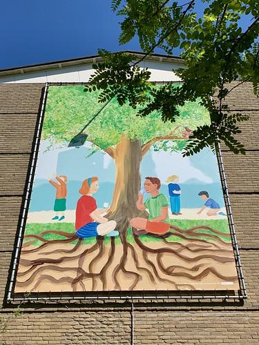 Muurdecoratie Nolenslaan Utrecht