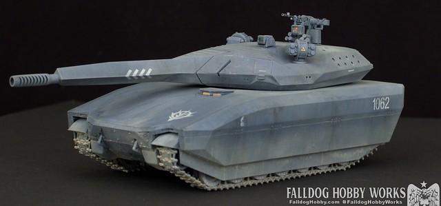 Zeon Inspired Takom PL-01 Tank 1 by Judson Weinsheimer