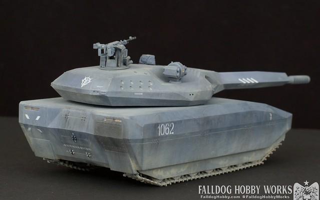 Zeon Inspired Takom PL-01 Tank 3 by Judson Weinsheimer