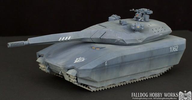 Zeon Inspired Takom PL-01 Tank 4 by Judson Weinsheimer