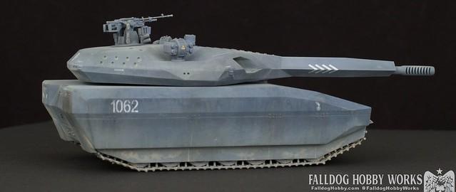 Zeon Inspired Takom PL-01 Tank 6 by Judson Weinsheimer