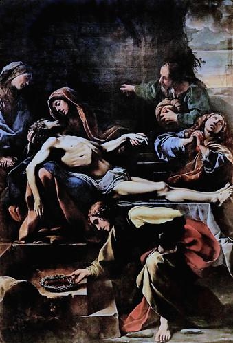 IMG_8044 Alessandro Tiarini 1577-1668  Bologna Déploration sur le Christ mort Lamentation over the Dead Christ   1617 Bologna Pinacoteca Nazionale