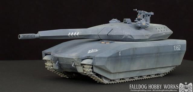 Zeon Inspired Takom PL-01 Tank 5 by Judson Weinsheimer