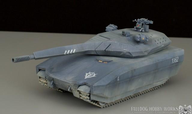 Zeon Inspired Takom PL-01 Tank by Judson Weinsheimer