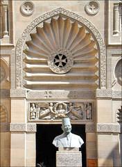 L'entrée du musée copte du Caire (Égypte)