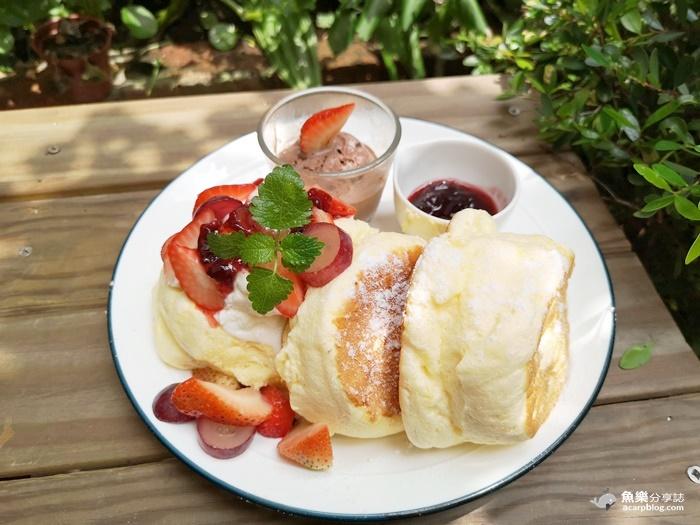 【桃園美食】福森院子 早午餐 咖啡 Brunch Coffee|藝文特區超人氣網美餐廳 @魚樂分享誌