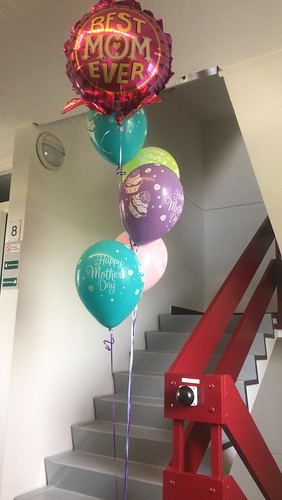 Ballonboeket Moederdag