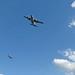 C-130 Hercules - flyover tonite of N Georgia hospitals