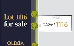 Lot 1116 Sasha Crescent, Truganina VIC