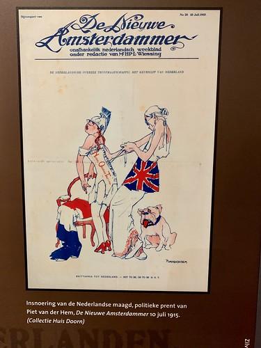 Politieke prent 1915