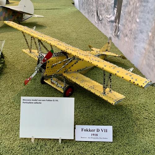 Schaalmodel Fokker D VII (1918)