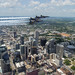 Blue Angels honored frontline workers with formation flights over Nashville and Little Rock.