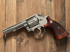 S&W Model 13 - Nickel Plated