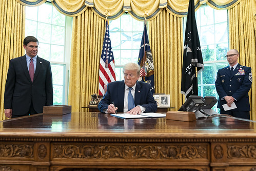 President Trump Signs an Armed Forces Da by The White House, on Flickr