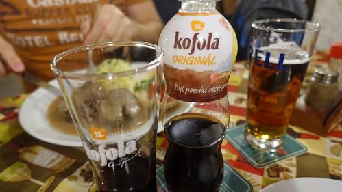 Kofola, Restaurace a penzion Pod Dračí skálou, Karlštejn, Czech Republic