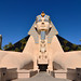 The entrance to the Luxor Hotel & Casino, Las Vegas