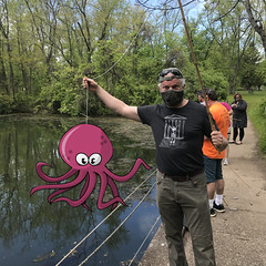 Neal and his octopus