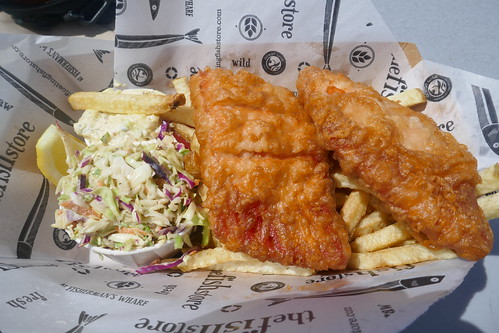Vancouver Island - Victoria - Fish and chips