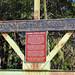 Fanning Springs Bridge Sign, Fanning Springs State Park