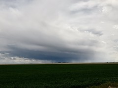 May 15, 2020 - Storm clouds on the horizon. (Jessica Fey)