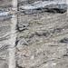 Calc-silicate rocks & reaction rim with metabentonite (Gouverneur Marble, Mesoproterozoic, ~1.1 Ga; Route 11 roadcut southwest of Canton, New York State, USA) 2