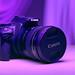 Purple camera light