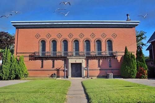 Masonic Temple - Seneca County -  Architecture - Sea Gulls