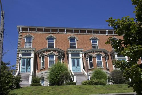 Belleville Ontario - Ontario - Canada - Bellevue Terrace - Italianate Architecture