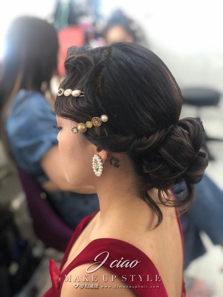 【新秘婕喬】新娘造型創作 / 歐式復古風