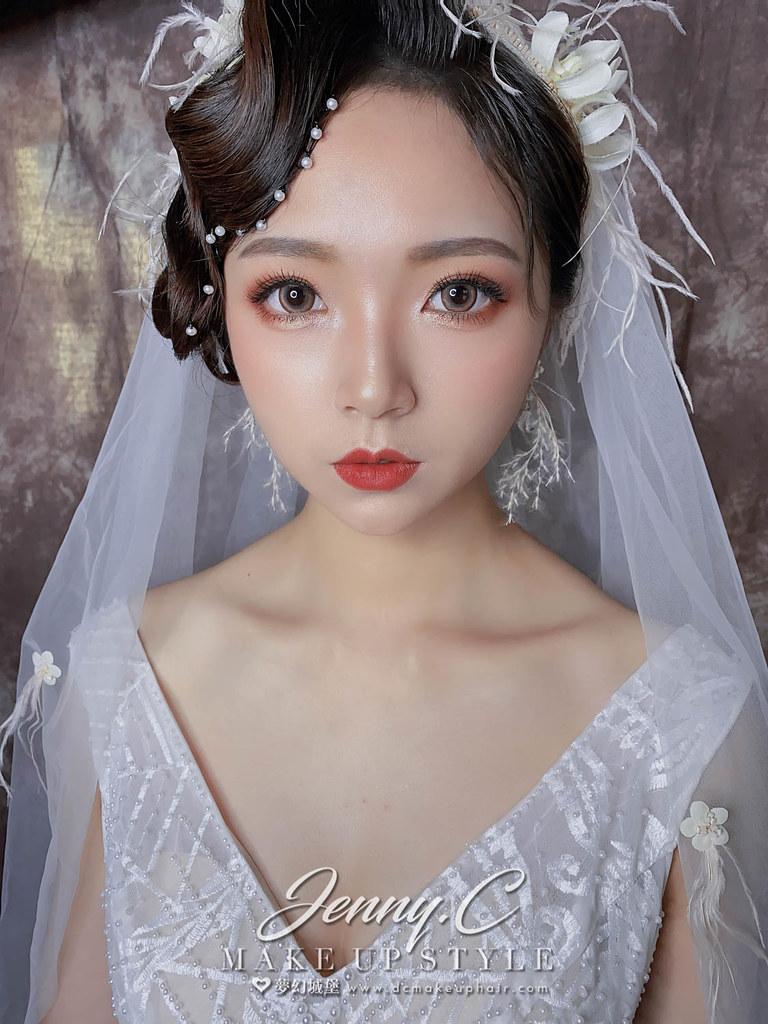 【新秘蓁妮】新娘造型創作 / 仙氣復古風