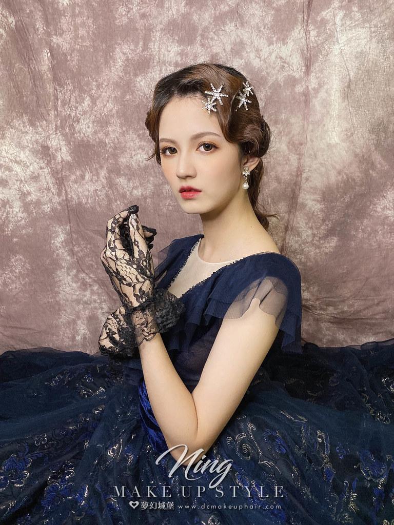 【新秘羽寧】新娘造型創作 / 復古女伶