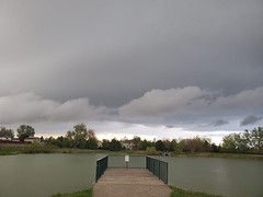 May 15, 2020 - Stormy clouds in Thornton. (LE Worley)