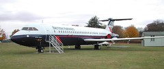 Photo of G-AVMO (British Airways) BAC 1-11-510ED. Cosford 171003