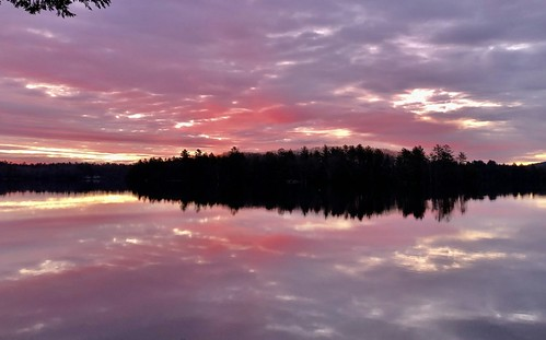 Coleman Pond sunrise