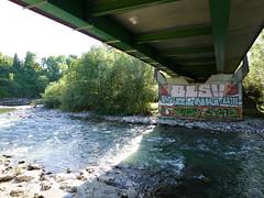 Le Fier @ Bridge @ Voie des Aravis @ Annecy-le-Vieux